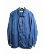 D'sh(ディッシュ)の古着「カバーオール」 ブルー