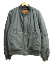 GOLDEN FLEECE(ゴールデンフリース)の古着「MA-1ジャケット」|オリーブ
