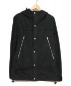 SHAN HOUSE(シャンハウス)の古着「フーデッドジャケット」|ブラック
