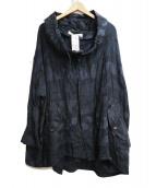 ANREALAGE(アンリアレイジ)の古着「フーデッドジャケット」