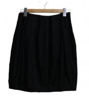 YOKO CHAN(ヨーコチャン)の古着「コクーンスカート」|ブラック