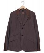 ts(s)(ティーエスエス)の古着「コットンシルクジャケット」|グレー