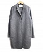 HARRIS WHARF LONDON(ハリスワーフロンドン)の古着「チェスターコート」|グレー