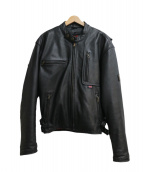 Belstaff(ベルスタッフ)の古着「ライナー付きレザージャケット」|ブラック