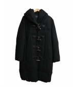 LOUNIE(ルーニィ)の古着「ダッフルダウンコート」|ブラック