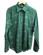 Bagutta(バグッタ)の古着「ワイドカラーシャツ」