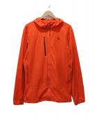 MOUNTAIN HARD WEAR(マウンテン ハード ウェア)の古着「ジップアップジャケット」 オレンジ