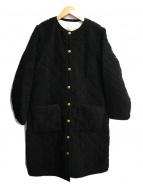 Traditional Weatherwear(トラディショナルウェザーウェア)の古着「ノーカラーボアコート」