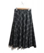 UNITED ARROWS TOKYO(ユナイテッドアローズ)の古着「チェックフレアスカート」