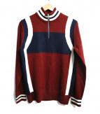 ck Calvin Klein(シーケーカルバンクライン)の古着「ハーフジップニット」