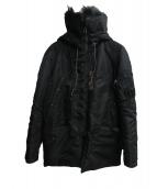Buzz Ricksons(バズリクソンズ)の古着「N-3Bタイプコート」 ブラック
