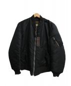 Buzz Ricksons(バズリクソンズ)の古着「MA-1ジャケット」 ブラック
