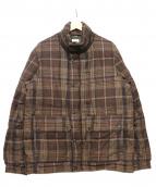 FIDELITY(フィデリティ)の古着「ダウンジャケット」|ブラウン