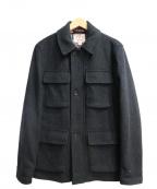BROOKS BROTHERS Red Fleece(ブルックスブラザーズレッドフリース)の古着「M65ウールジャケット」|グレー