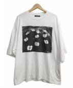 CHRISTIAN DADA(クリスチャンダダ)の古着「PHOTO PRINT HAPPI SLEEVE T-SHI」