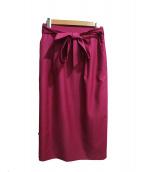 KUMIKYOKU(クミキョク)の古着「オクシージュエルスラブスカート」