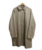 COMOLI(コモリ)の古着「ステンカラーコート」