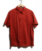 PRADA SPORTS(プラダスポーツ)の古着「半袖シャツ」|レッド