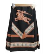 BURBERRY(バーバリー)の古着「プリーツ巻きスカート」