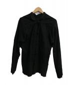 JUNYA WATANABE CDG(ジュンヤワタナベ コムデギャルソン)の古着「レースチャイナジャケット」|ブラック