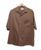 NUMBER (N)INE(ナンバーナイン)の古着「エアリーサテンオープンカラーシャツ」
