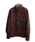Billionaire Boys Club(ビリオネアボーイズクラブ)の古着「チェックシャツ」