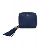 FURLA(フルラ)の古着「2つ折り財布」|ブルー