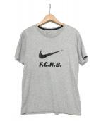 F.C.R.B.(エフシーレアルブリストル)の古着「プリントTシャツ」|グレー