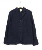 sanca(サンカ)の古着「3Bジャケット」 ネイビー
