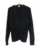 SAINT LAURENT PARIS(サンローラン パリ)の古着「カシミヤカーディガン」 ブラック