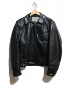 AERO LEATHER(エアロレザー)の古着「HIGHWAYMAN JACKET」