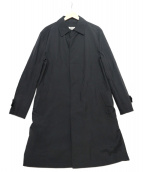 BURBERRY BLACK LABEL(バーバリーブラックレーベル)の古着「ライナー付ステンカラーコート」|ブラック