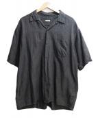 COMOLI(コモリ)の古着「半袖シャツ」 グレー