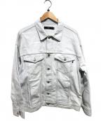 Vaporize(ヴェイパライズ)の古着「ビックデニムジャケット」 インディゴ