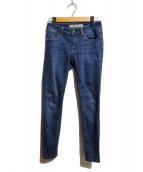BURBERRY BRIT(バーバリーブリット)の古着「スキニーデニムパンツ」|インディゴ