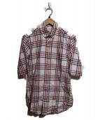 THOM BROWNE(トム ブラウン)の古着「半袖チェックシャツ」