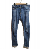 DIESEL(ディーゼル)の古着「カットオフジーンズ」|インディゴ