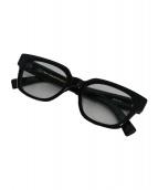 OLIVER GOLDSMITH(オリバーゴールドスミス)の古着「伊達眼鏡」|ブラック