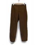 DESCENTE PAUSE(デサントポーズ)の古着「SEAMTAPED PANTS」|ブラウン