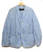 COMME des GARCONS HOMME(コムデギャルソンオム)の古着「ジャケット」 スカイブルー