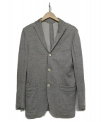 RING JACKET(リングジャケット)の古着「リネン混テーラードジャケット」|グレー