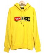 DIESEL(ディーゼル)の古着「プルオーバーパーカー」|イエロー