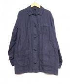 FRAMeWORK(フレームワーク)の古着「リネンジャケット」|ネイビー