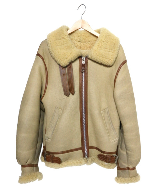 AVIREX(アビレックス)AVIREX (アビレックス) B-3ジャケット ベージュ サイズ:表記36の古着・服飾アイテム