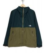 THE NORTH FACE(ザノースフェイス)の古着「コンパクトジャケット」|グリーン×カーキ
