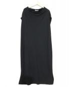 Calvin Klein(カルバンクライン)の古着「ノースリーブカットソーワンピース」|ブラック