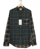VAINL ARCHIVE(ヴァイナルアーカイブ)の古着「チェックシャツ」|グリーン