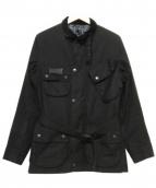 Barbour(バブアー)の古着「別注インターナショナルジャケット」|ブラック