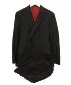 BLACK LABEL CRESTBRIDGE(ブラックレーベル・クレストブリッジ)の古着「ダブルスーツ」|ブラウン