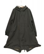 BURBERRY BLACK LABEL(バーバリーブラックレーベル)の古着「モッズコート」|カーキ
